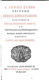L. Annaei Flori Epitome rerum romanarum