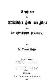 Geschichte der deutschen Höfe seit der Reformation: Band 9