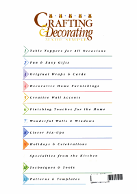 Crafting and Decorating Made Simple PDF