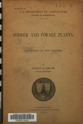 Fodder and Forage Plants: Exclusive of the Grasses