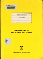 Industrial Tribunals and Wage Fixing Options