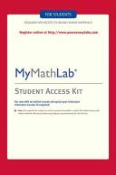 Mymathlab Standalone Access Card Book PDF