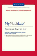 Mymathlab    Standalone Access Card Book