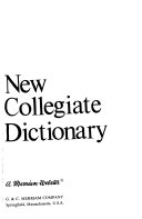 Webster s New Collegiate Dictionary PDF