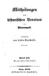 Mittheilungen des Historischen Vereines für Steiermark: Band 4