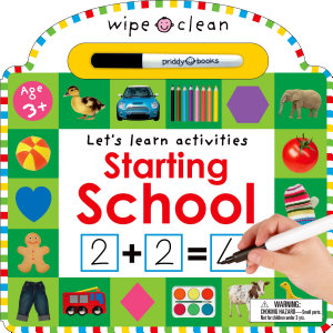 Wipe Clean  Starting School