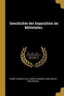 Geschichte der Inquisition Im Mittelalter PDF