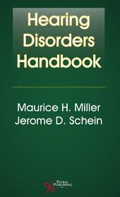 Hearing Disorders Handbook
