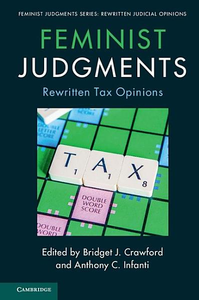 Download Feminist Judgments  Rewritten Tax Opinions Book