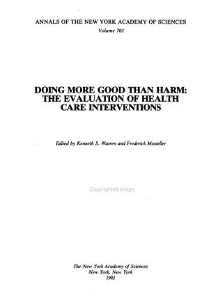 Doing More Good Than Harm