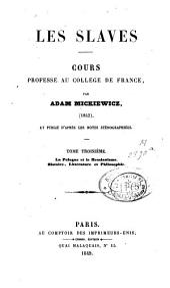 Les Slaves: Volume3
