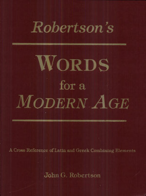 Robertson s Words for a Modern Age PDF