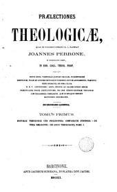 Praelectiones theologicae quas in collegio romano S.J habebat ..., 1