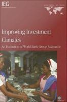 Improving Investment Climates PDF