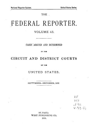 The Federal Reporter PDF