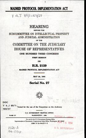 Madrid Protocol Implementation Act PDF