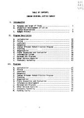 Indian reservation criminal justice: task force analysis 1974-1975