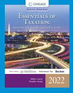 South-Western Federal Taxation 2022: Essentials of Taxation: Individuals and Business Entities