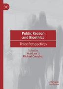 Public Reason and Bioethics
