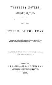Peveril of the Peak: Volume 15