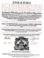 In quatuor Institutionum imperialium Iustiniani libros commentaria