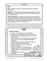 Early Childhood Literacy Centers  Making Literacy Mini Books PDF