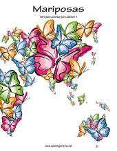 Mariposas libro para colorear para adultos 1
