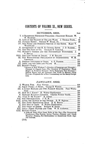 Quarterly Review of the Methodist Episcopal Church  South
