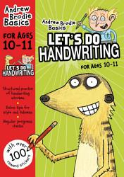 Lets Do Handwriting For Ages 10 11 PDF