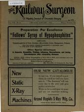 The Railway Surgeon: Volume 8, Issue 8