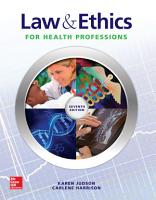 Law   Ethics for Health Professions PDF