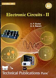 Electronic Circuits   Ii Book
