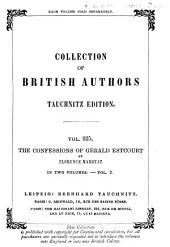 The Confessions of Gerald Estcourt: Volume 2