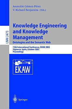 Knowledge Engineering and Knowledge Management  Ontologies and the Semantic Web PDF