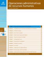 El área de recursos humanos en la empresa (Operaciones administrativas de recursos humanos)