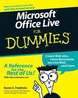 Microsoft Office Live For Dummies PDF