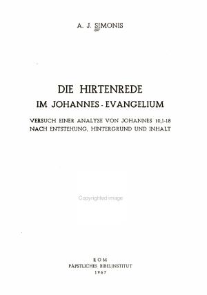 Analecta biblica PDF