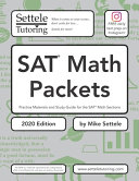SAT Math Packets  2020 Edition  Book