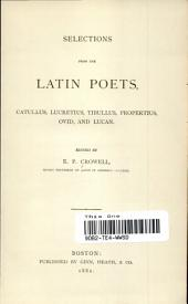 SELECTIONS FROM LATIN POETS
