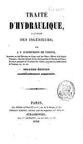 Traité d'hydraulique: à l'usage des ingénieurs