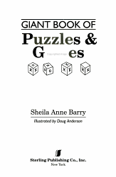 Giant Book Of Puzzles Games Book PDF