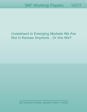 Investment in Emerging Markets We Are Not in Kansas Anymore   Or Are We