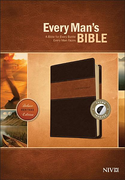 Download Every Man s Bible NIV  Deluxe Heritage Edition  Tutone Book