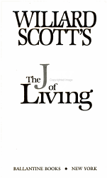 The Joy Of Living Book PDF