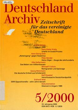 Deutschland Archiv PDF