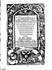 Doctissimi Haymonis Saxonis episcopi Halberstatten[sis]. in diui Pauli epistolas cu[m] breuis tum perlucida expositio nuper Argentorati stanneis calamis primum excusa