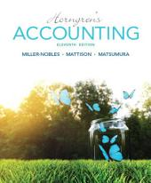 Horngren's Accounting: Edition 11