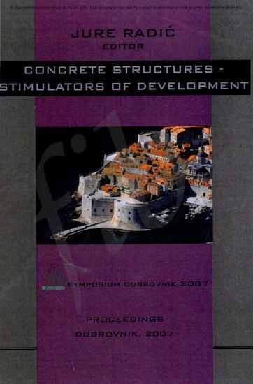 Proceedings fib Symposium in Dubrovnik Croatia PDF