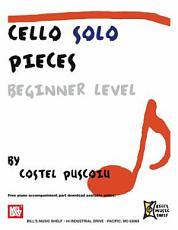 Cello Solo Pieces, Beginner Level
