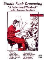 Studio Funk Drumming PDF